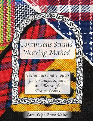 Carol Leigh's 468 pg book on weaving on various types of frame looms. Click for a larger image and more information.